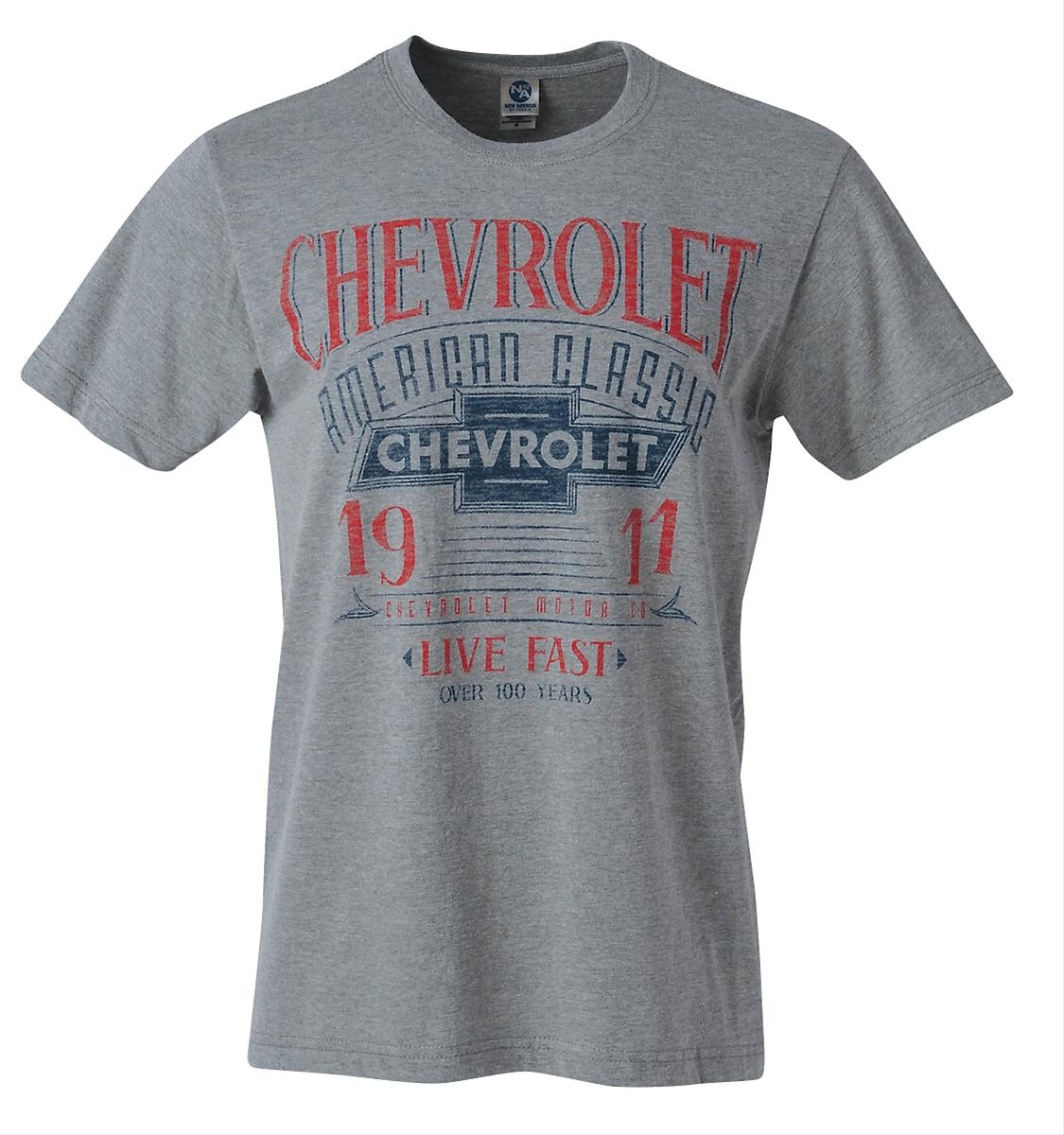 Genuine hotrod hardware chevrolet american classic t for All american classic shirt