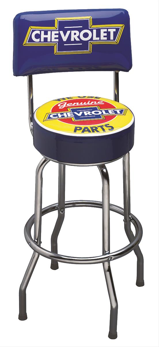 Genuine Chevy Parts Stool W Back Rw425 Free Shipping On