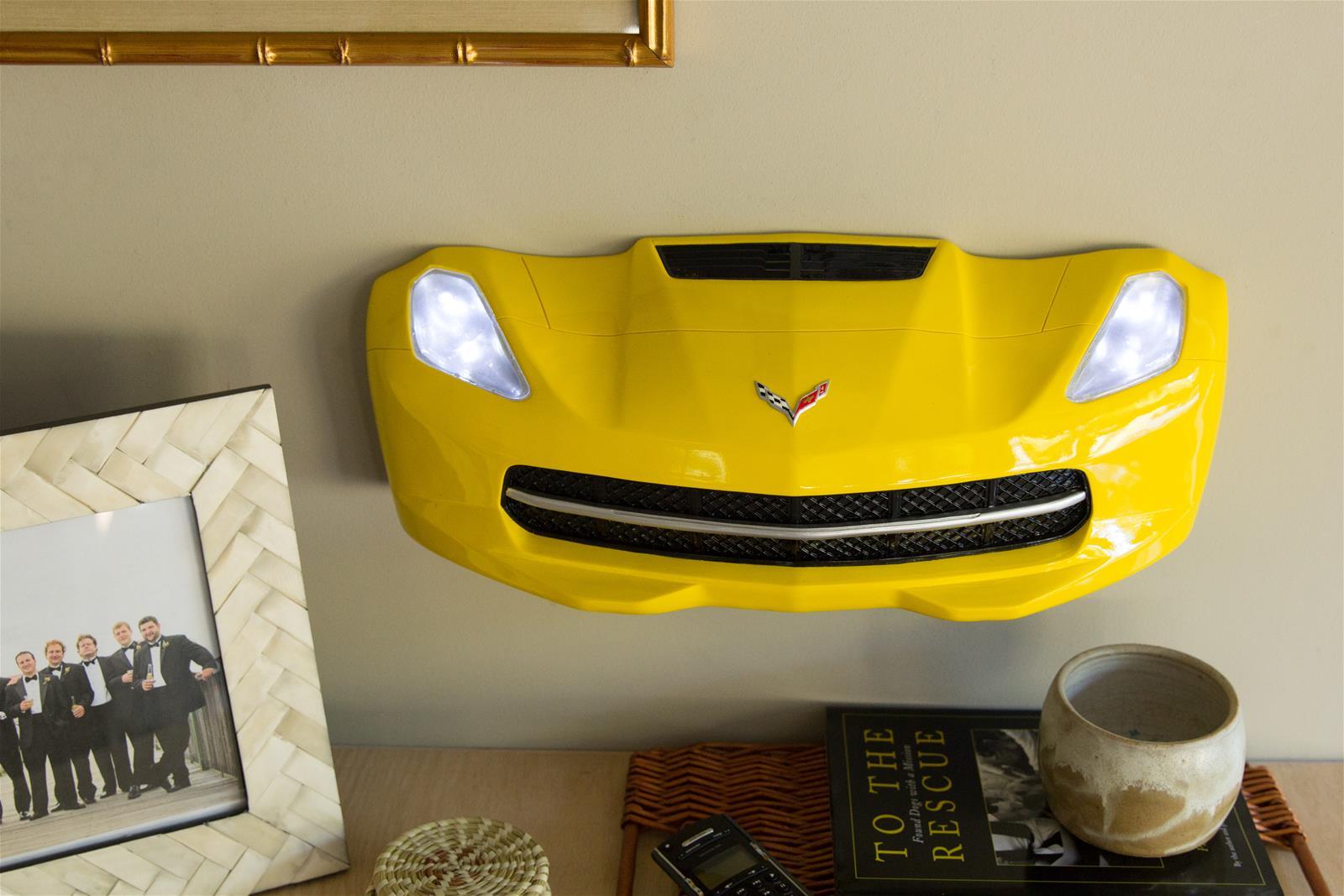 Chevy Corvette C7 Stingray Front Bumper Light-Up Wall Décor 7580-110 ...