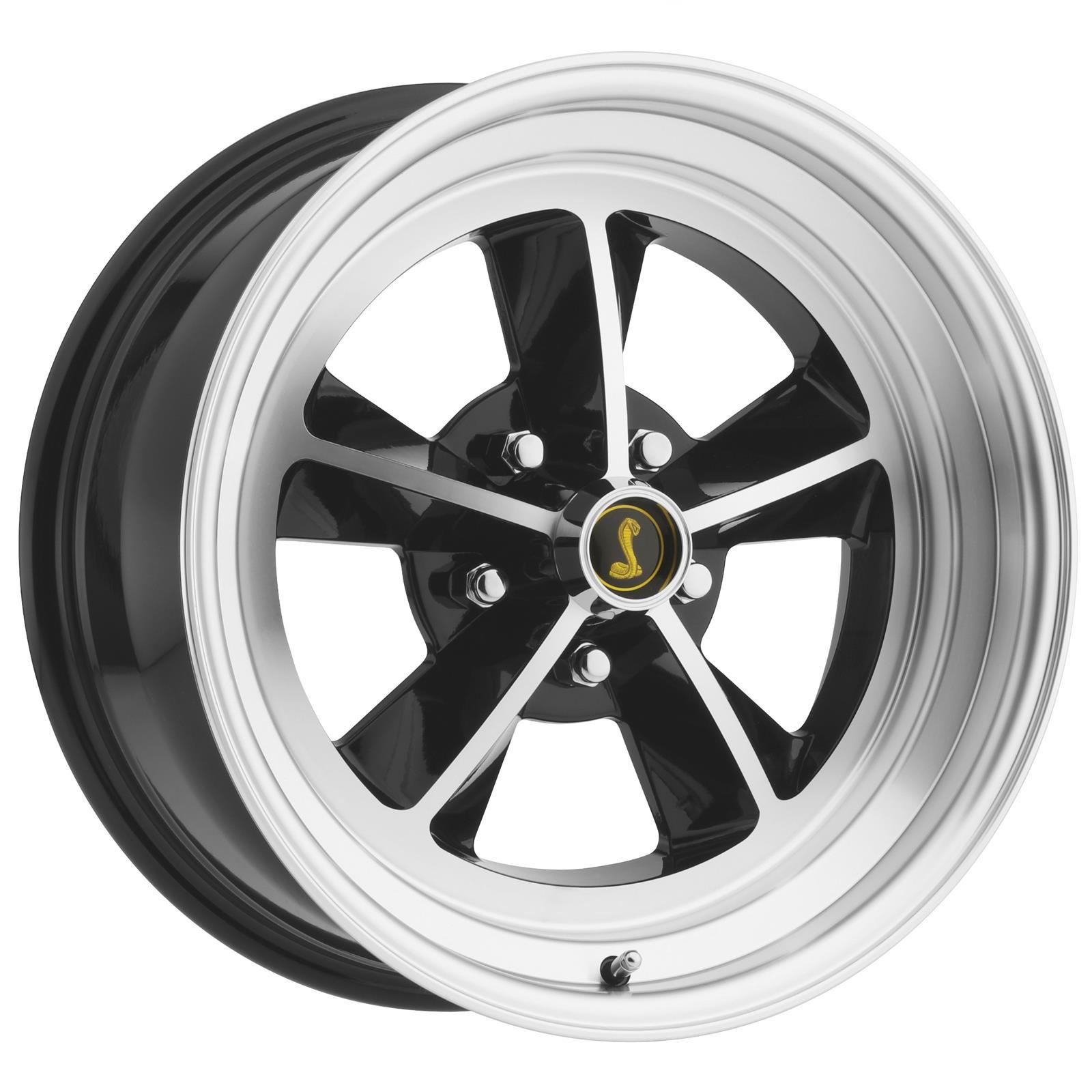Scott Drake Legendary GT9 Alloy Machined Wheels With Black