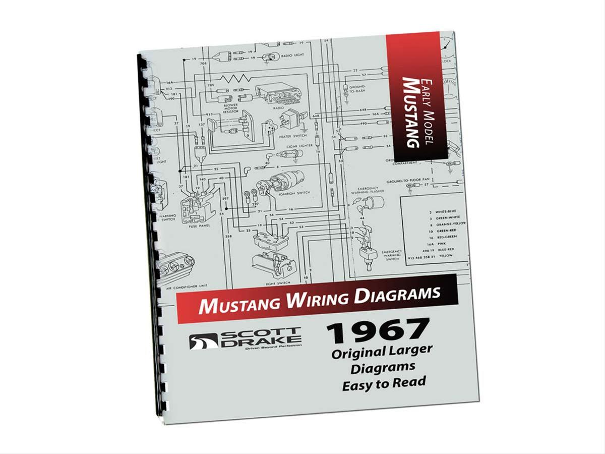 scott drake wiring diagram manuals mp 3 p free shipping on orders K&R Wiring Diagram scott drake wiring diagram manuals mp 3 p free shipping on orders over $99 at summit racing