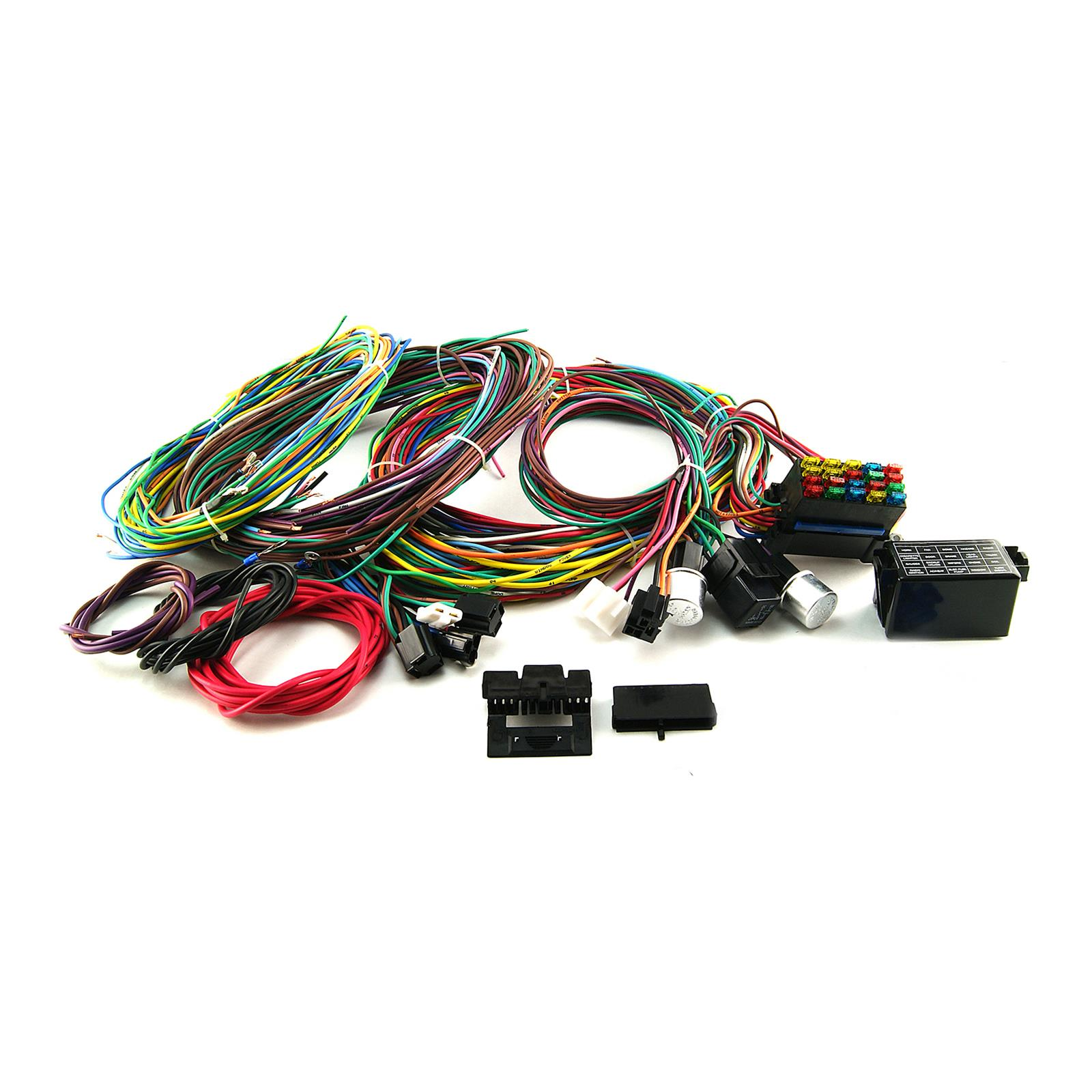 Speedmaster PCE368-1001 Procomp Electronics Universal Wiring Harness Kits    Summit RacingSummit Racing