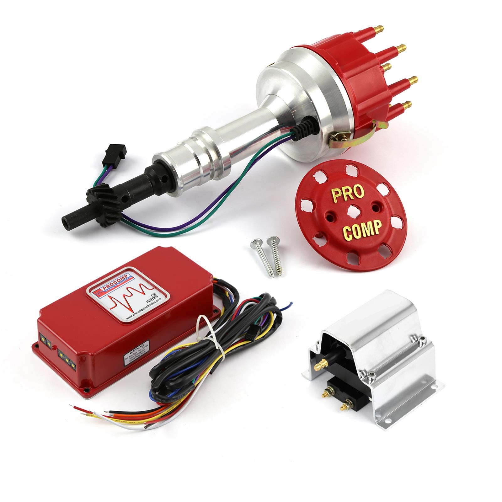 [DIAGRAM_5NL]  Procomp Electronics Ignition System Combo Kits PCE385-1156 | Ford Pro Comp Distributor Wiring |  | Summit Racing