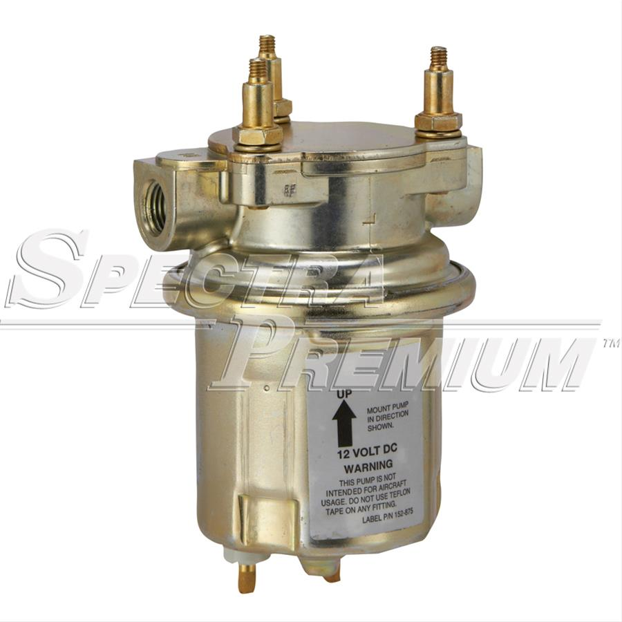Spectra Premium External Electric Fuel Pumps Sp1130 Free Shipping 02 Kia Pump Wiring On Orders Over 99 At Summit Racing