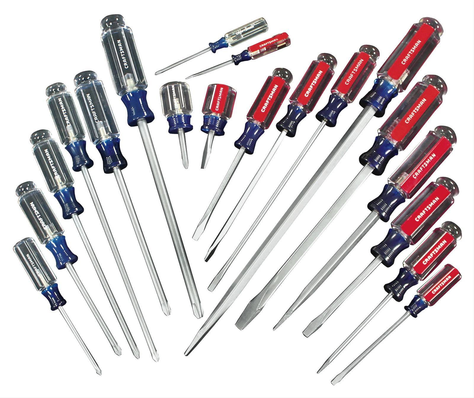 craftsman screwdriver set 009 1166 ebay. Black Bedroom Furniture Sets. Home Design Ideas