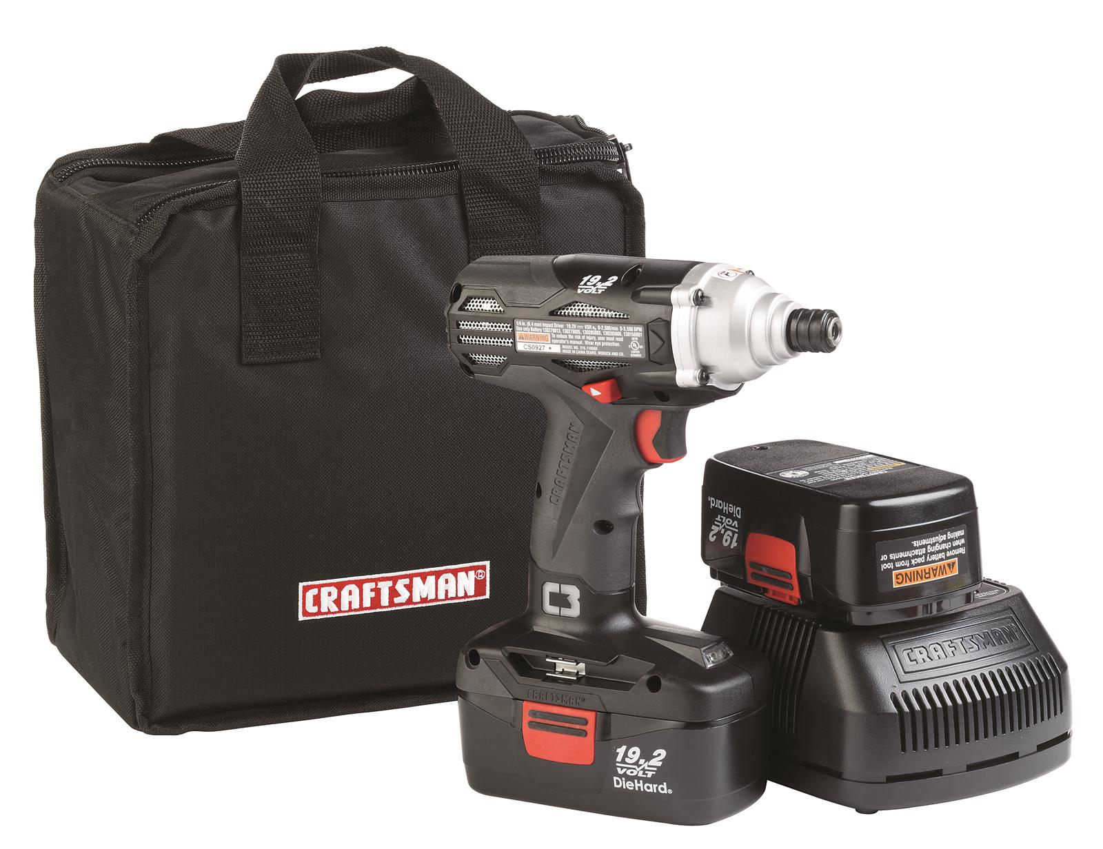Craftsman C3 19 2 V Cordless Impact Driver Kits 917338 Free Shipping On Orders Over 99 At Summit Racing