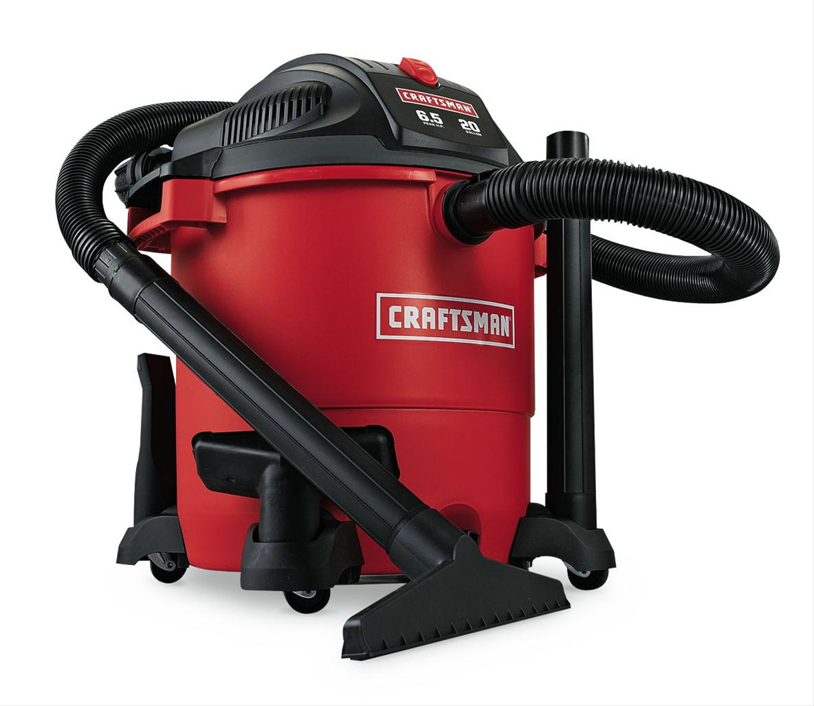 Craftsman Wet Dry Vac Parts >> Craftsman 20 Gallon Wet-Dry Vacuum Cleaners 009-17762 - Free Shipping on Orders Over $99 at ...