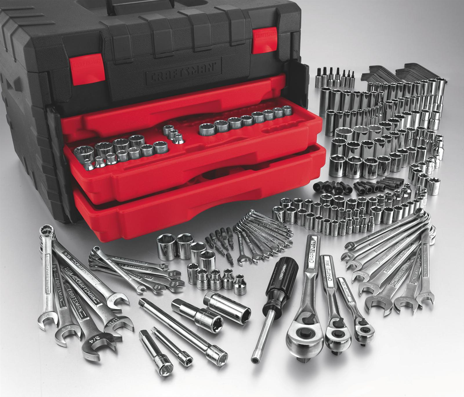 Craftsman 255 Piece Mechanics Tool Sets 009 35255 Free