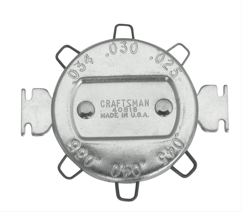 Craftsman Leaf Spark Plug Gap Wire Gauges 009-40816 - Free Shipping ...