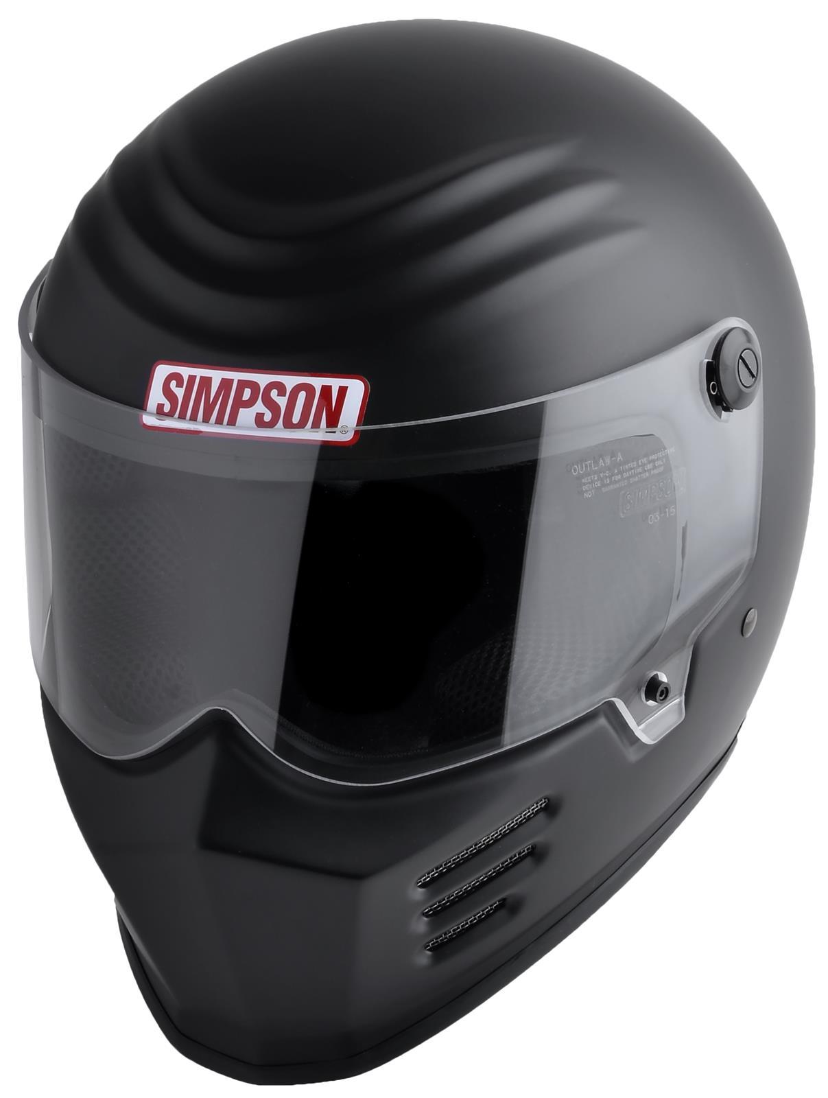 Simpson Racing Helmets >> Simpson Racing Outlaw Bandit Series Helmets 28315m8