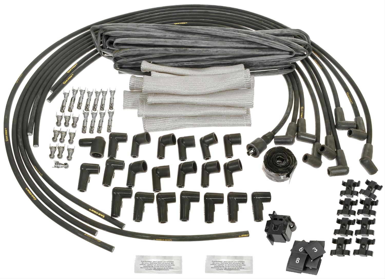 Racing Spark Plug Wires on
