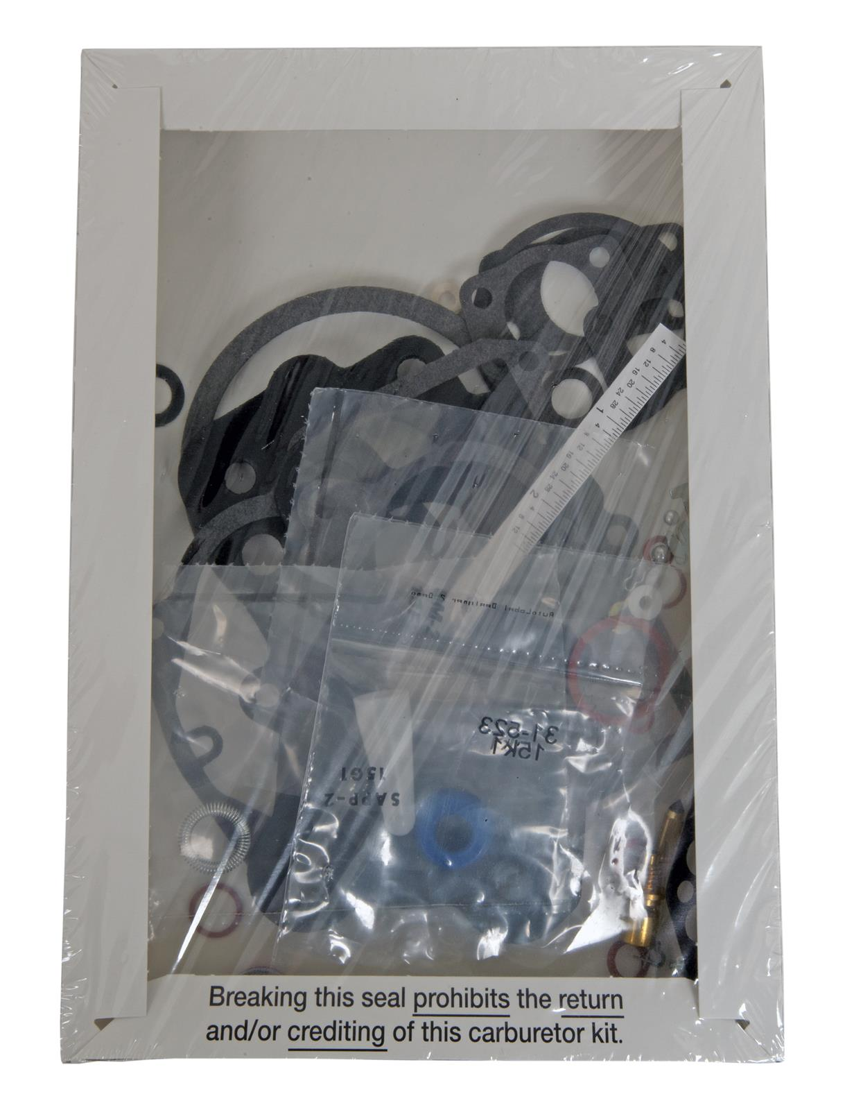 Carburetor Repair Kit-Kit Standard 531B