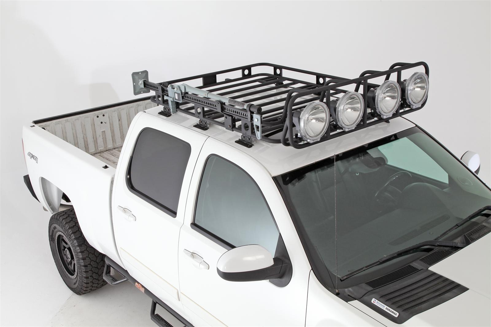 Smittybilt Defender Roof Rack Light Cages 40002 Free