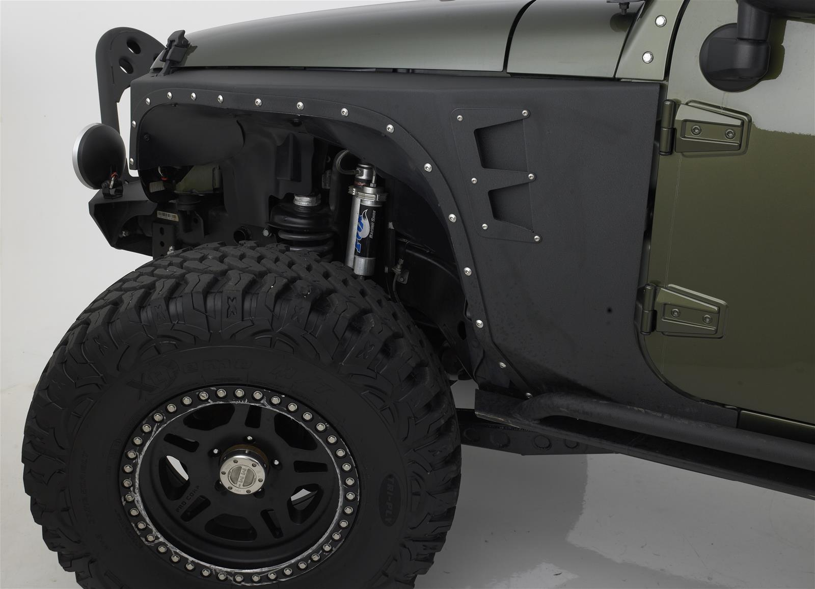 Smittybilt Xrc Armor Fenders 76880 Free Shipping On