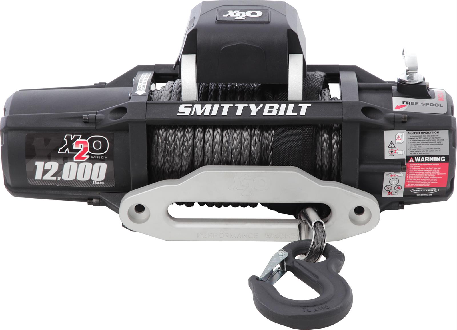 Smittybilt Gen2 X20 Comp Series Winches 98512 - Free Shipping on Orders  Over $49 at Summit Racing