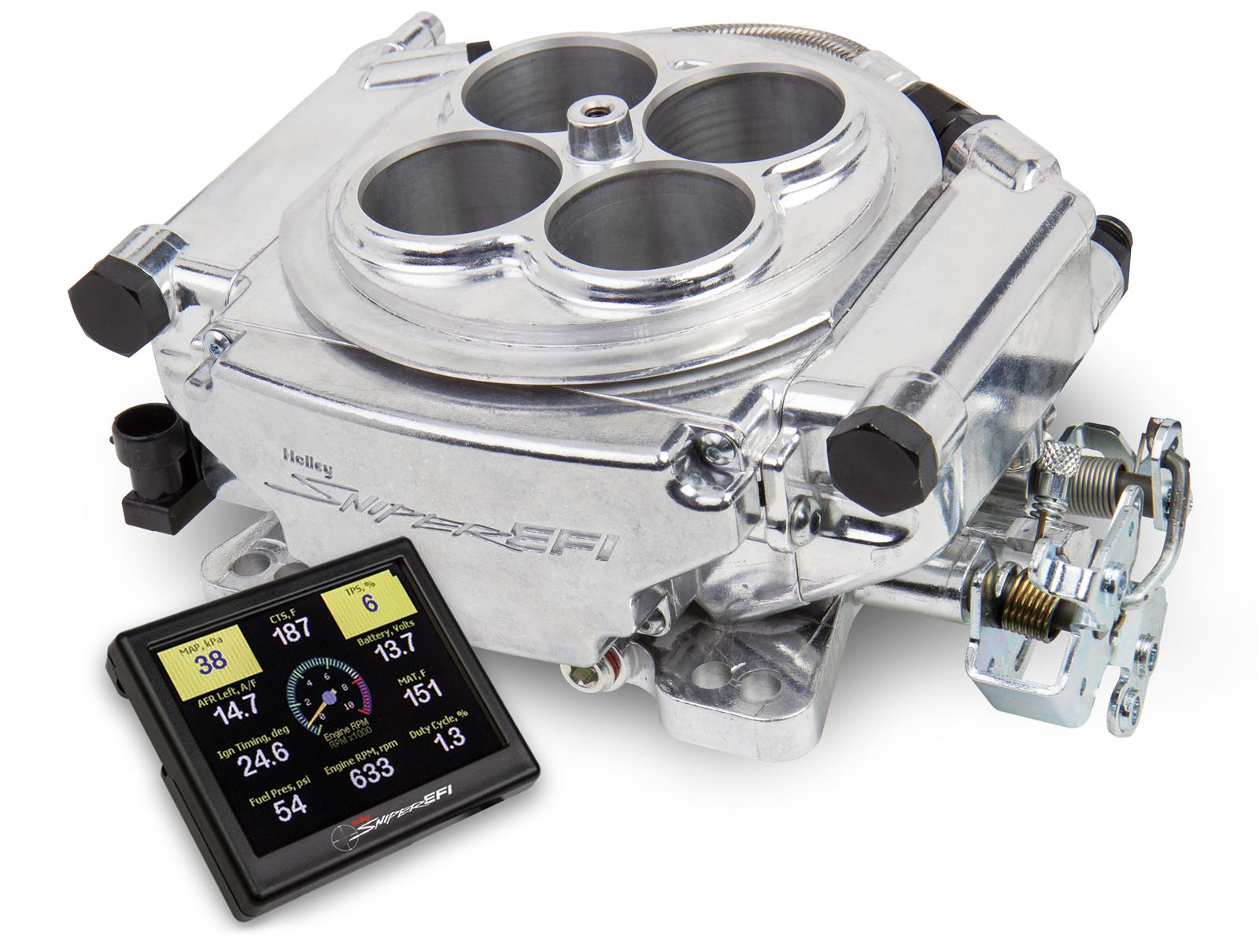 Holley Sniper EFI Self-Tuning Fuel Injection Systems 550 ...