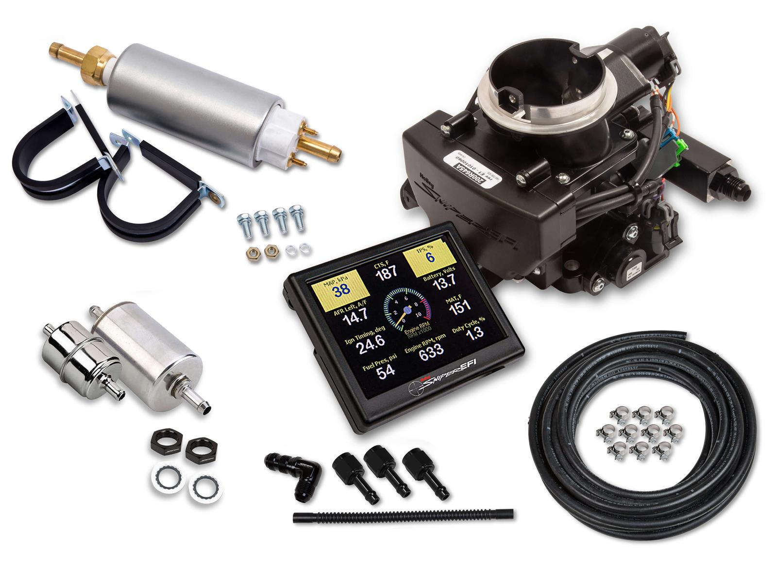 Holley Sniper EFI 2GC Small Bore Fuel Injection Systems 550-865K