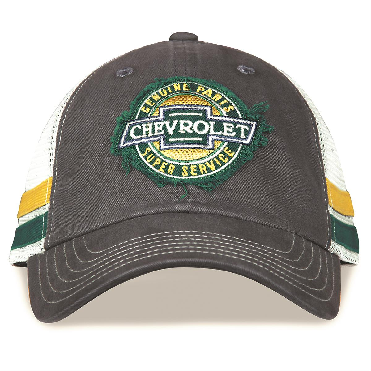 6a89681bad6 Chevrolet Super Service Trucker hat 37289 - Free Shipping on Orders Over   99 at Summit Racing