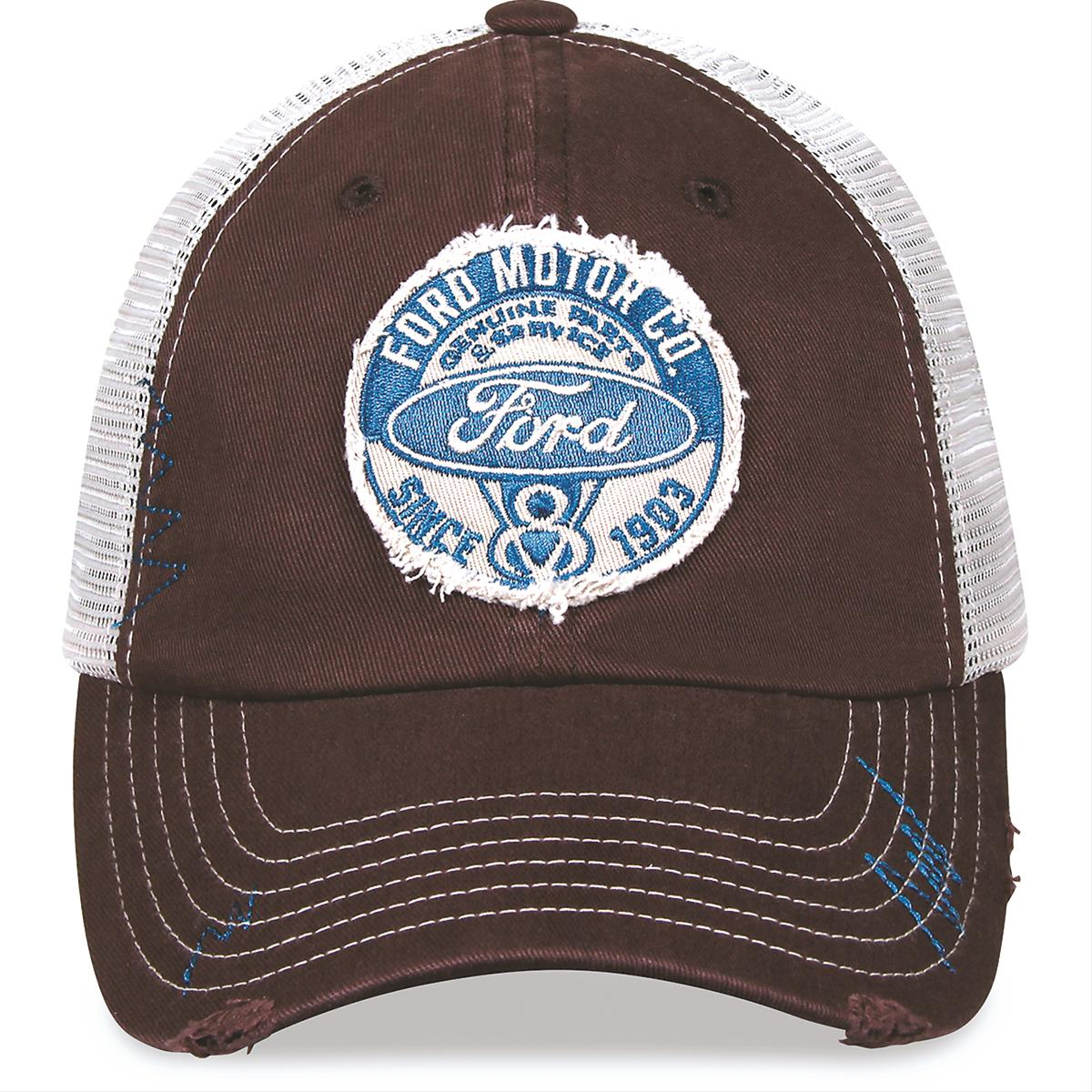 a70d2440a216d Ford Motor Co. Since 1903 Trucker Hat 75489 - Free Shipping on Orders Over   99 at Summit Racing