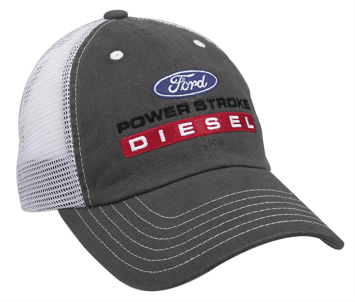 8c4bad51 Ford Powerstroke Diesel Trucker Cap D7765 - Free Shipping on Orders Over  $99 at Summit Racing