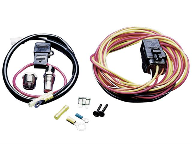 spal electric fan wiring harness kits 195fh free shipping onspal electric fan wiring harness kits 195fh free shipping on orders over $99 at summit racing