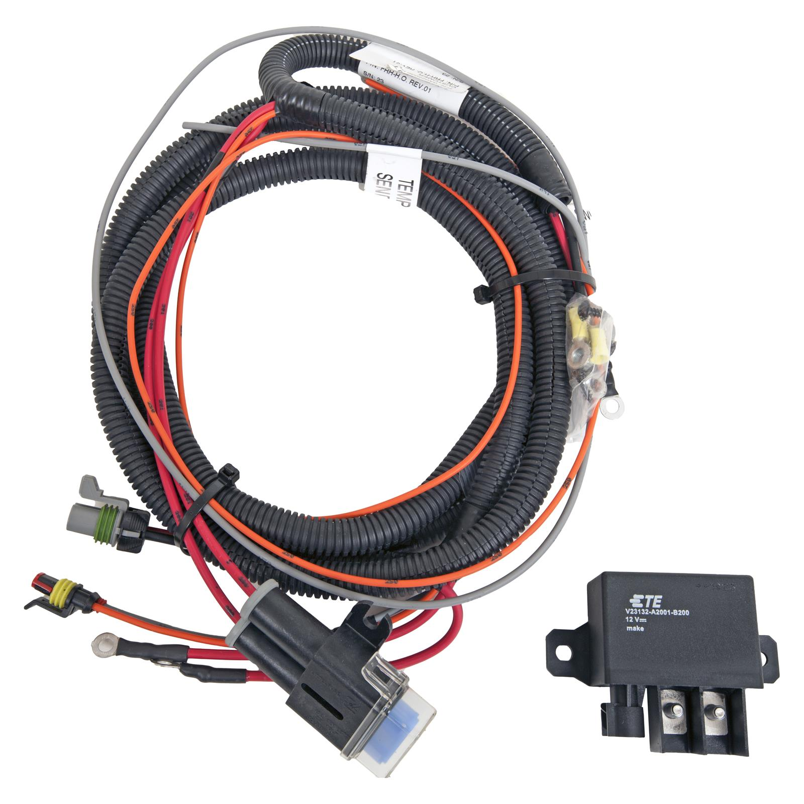 Spal Electric Fan Relay Wiring Kits FRH-HO-KIT - Free Shipping on Orders  Over $49 at Summit Racing