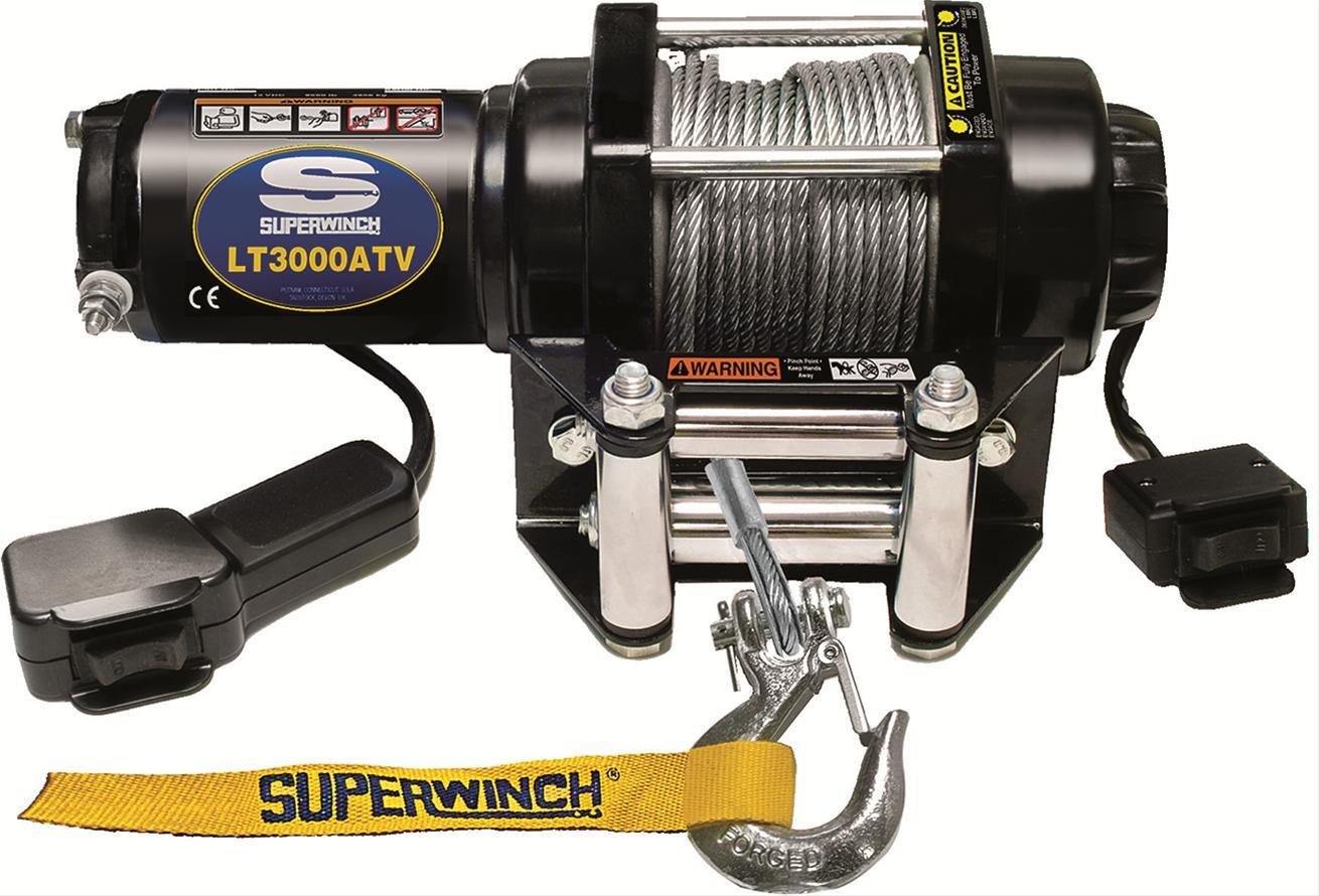 Superwinch Lt3000 Atv Winch 1130220