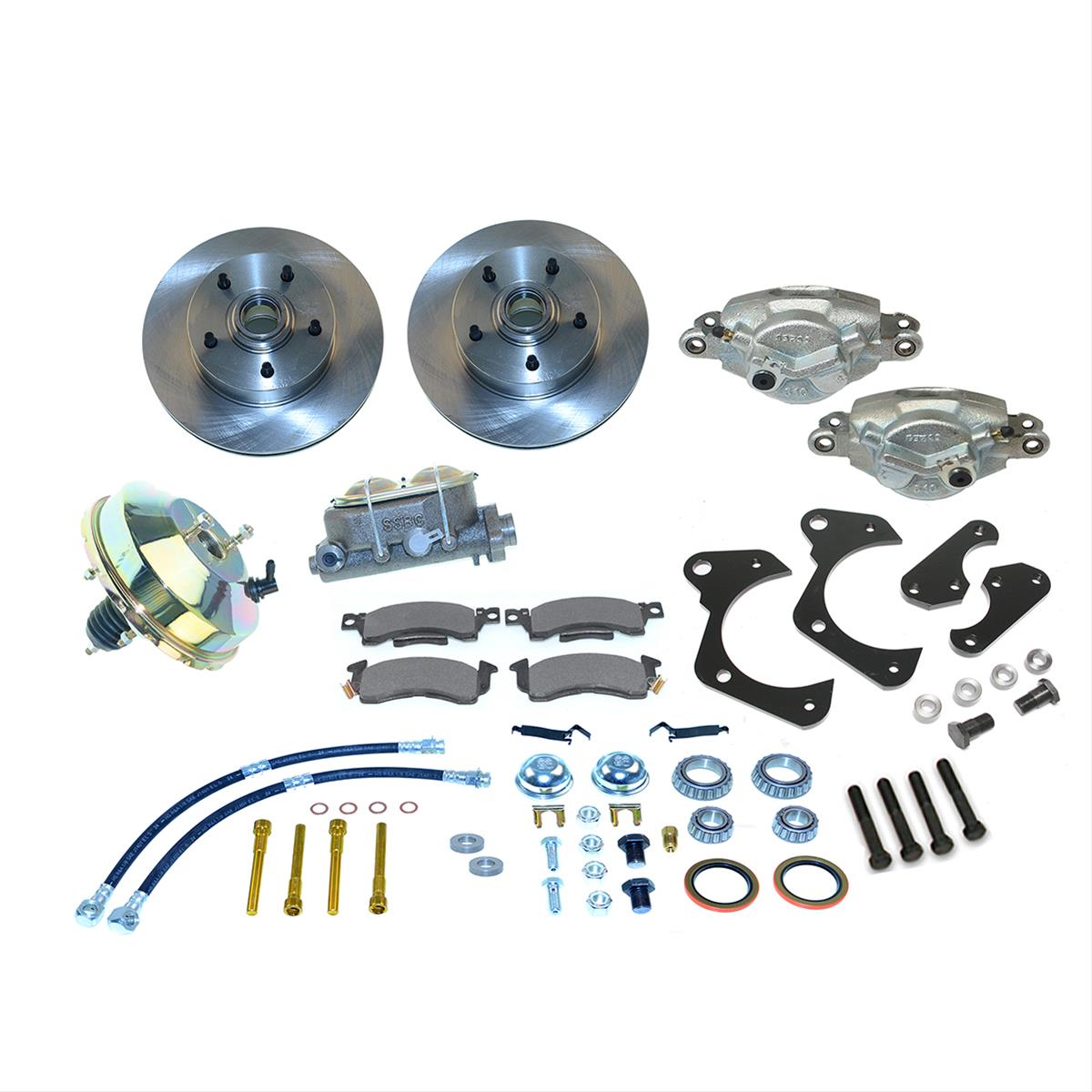 Stainless Steel Brakes Drum To Disc Brake Conversion Kit A129 2 Ebay Image Is Loading
