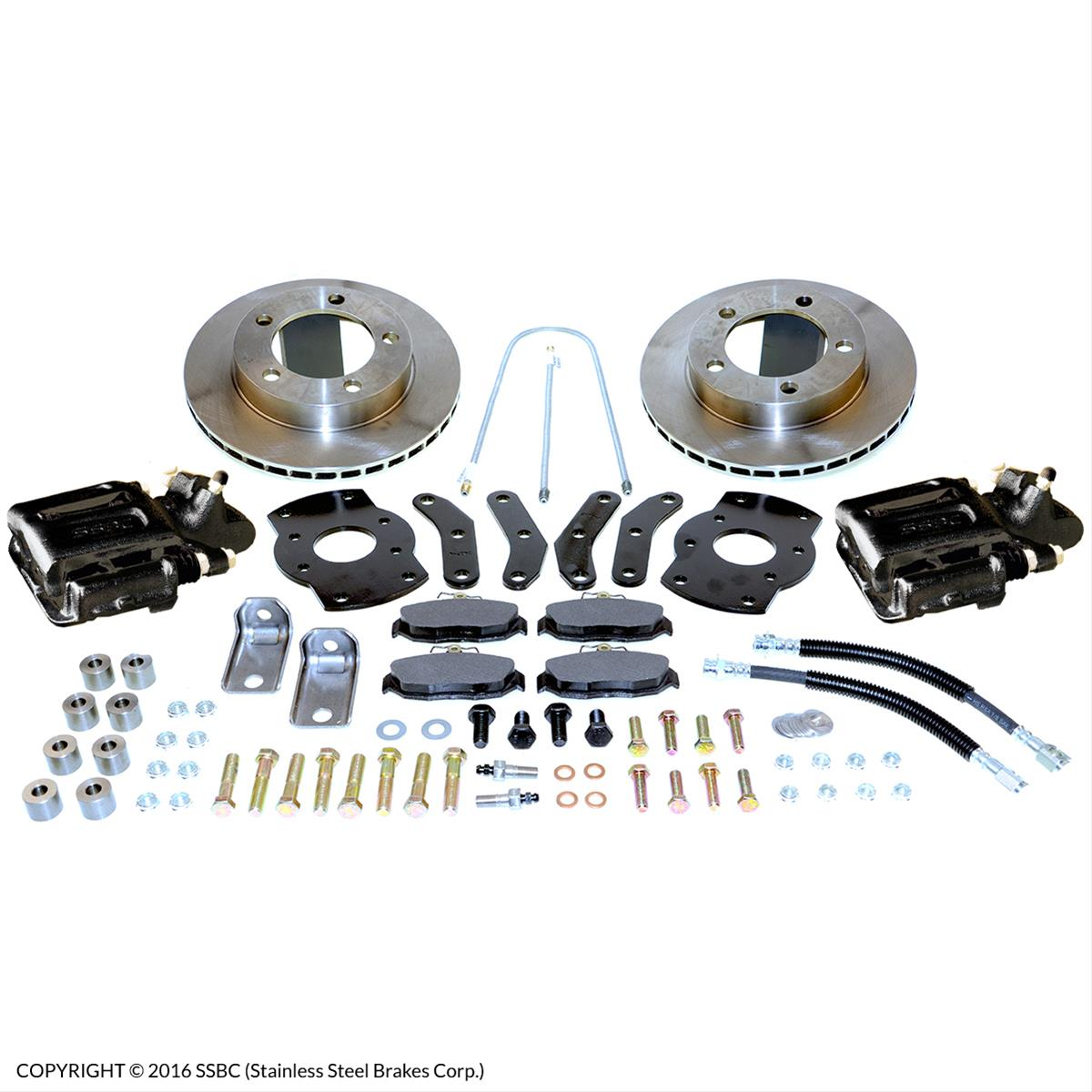 SSBC Drum to Disc Brake Conversion Kits A130BK