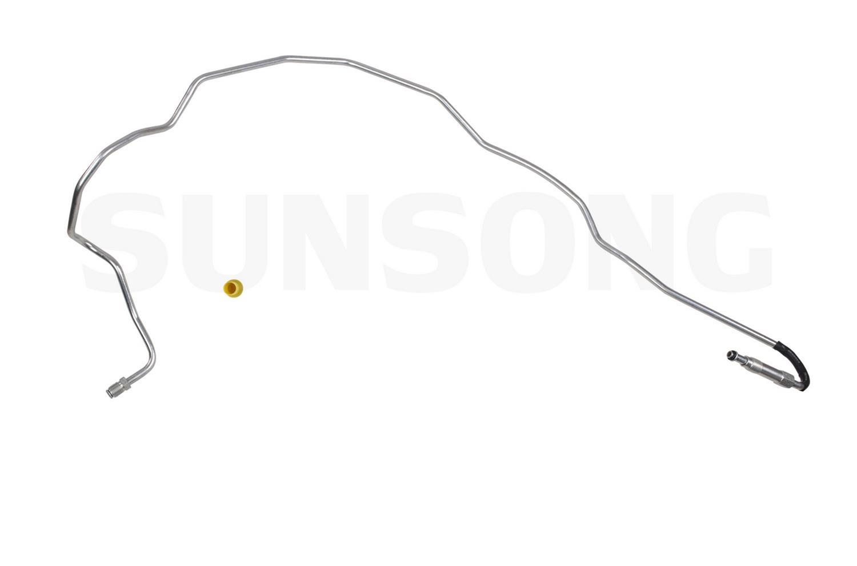 Sunsong 3401438 Power Steering Pressure Line Hose Assembly
