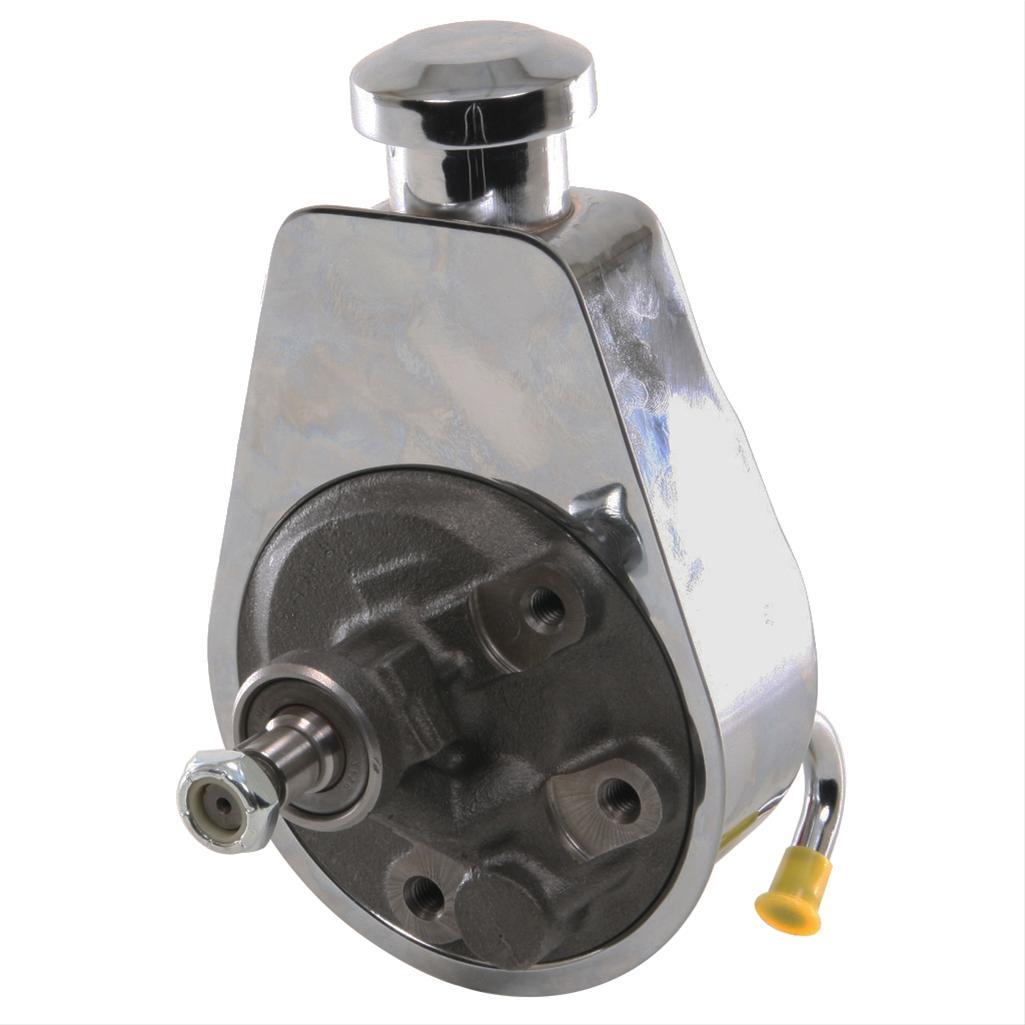 GM Saginaw P Series  Power Steering Pump Reservoir Chrome