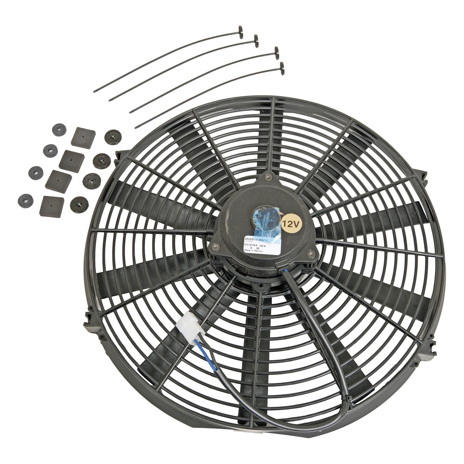 summit racing high performance electric fan sum