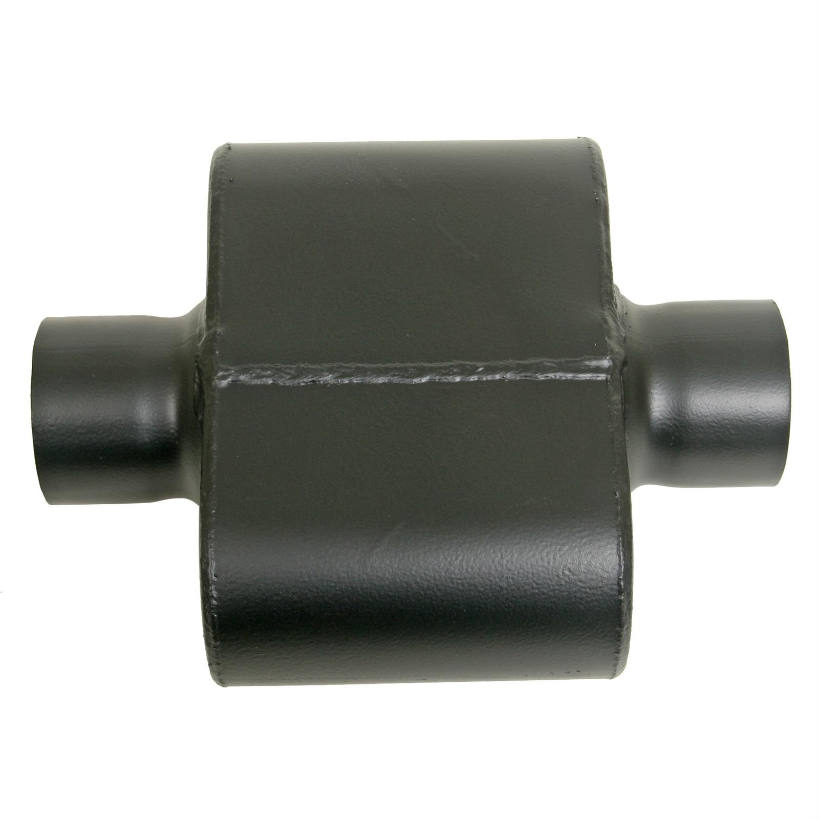Single chamber performance race muffler