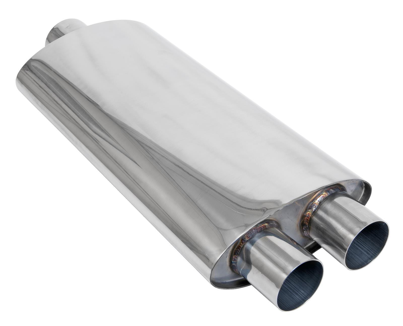 "Magnaflow 14158 Race Series Stainless Steel 2.5/"" Round Muffler"