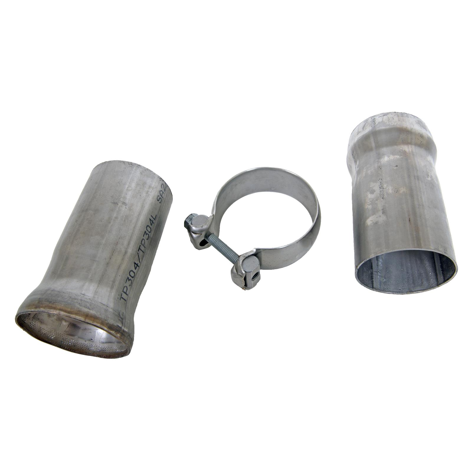 Summit exhaust ball flange stainless steel natural in