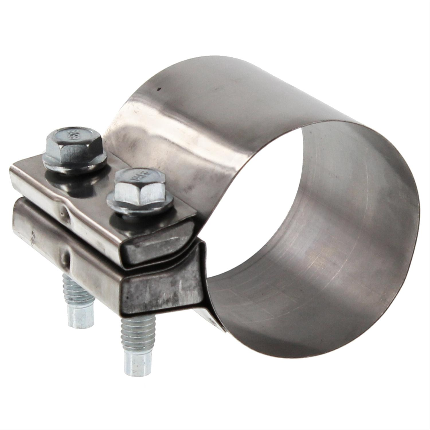 Summit racing band muffler clamp quot stainless steel each