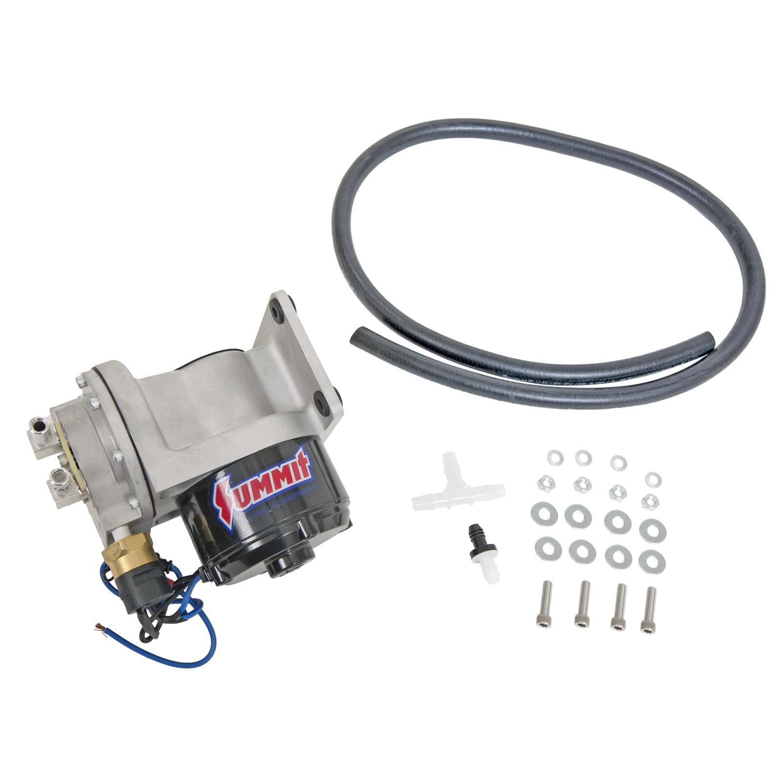 Summit Racing Electric Vacuum Pumps Sum 760152 Free Shipping On 350 Chevy Advance Diagram Wiring Schematic Orders Over 99 At