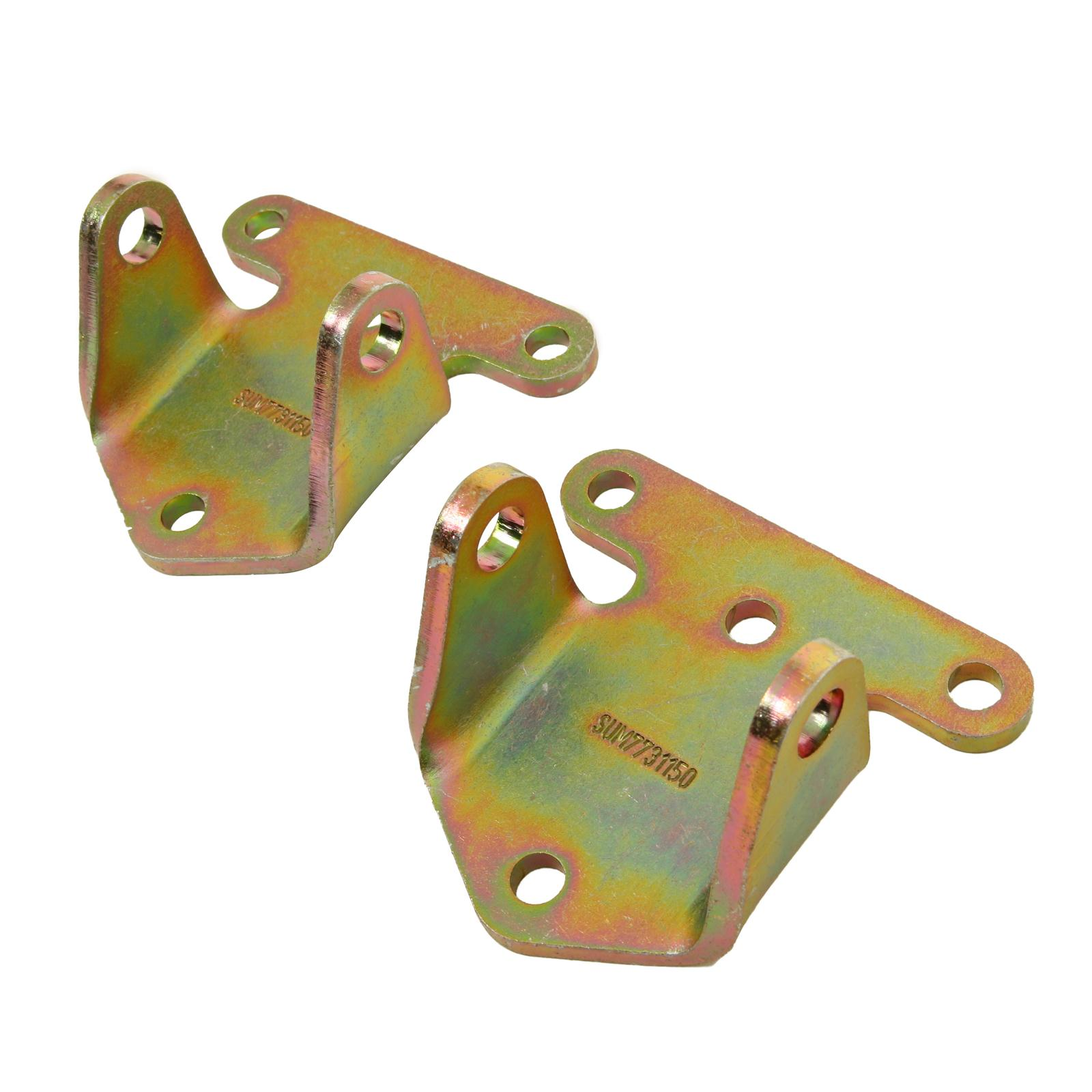 """SMALL BLOCK CHEVY SOLID STEEL MOTOR MOUNTS 1 PAIR #561-62500 MOROSO 2 1//8/"""" TALL"""