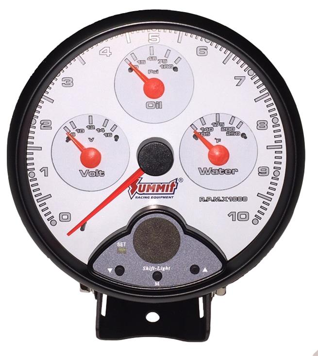 Summit Racing 4in1 Gauges Sum800104 Free Shipping On Orders. Summit Racing 4in1 Gauges Sum800104 Free Shipping On Orders Over 99 At. Wiring. 1949 Packard Wiring Diagram For Gas Gauge At Scoala.co