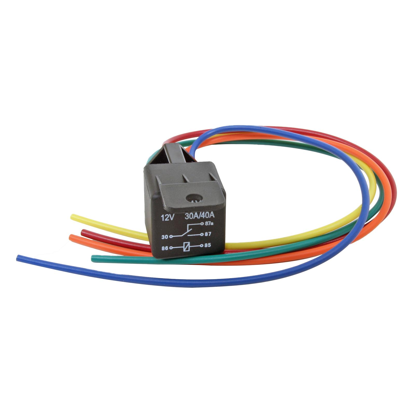 Summit Racing Equipment Universal Relays Sum 890005 Free Shipping Switch Wiring On Orders Over 49 At