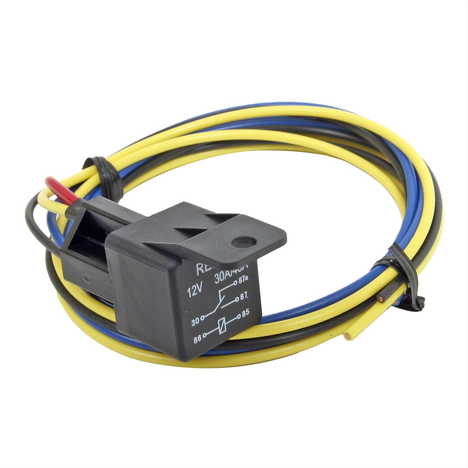 Summit Racing Equipment Electric Fan Relays Sum 890008 Free Electrical Wiring Diagram For 1941 1948 Studebaker All Trucks Shipping On Orders Over 99 At