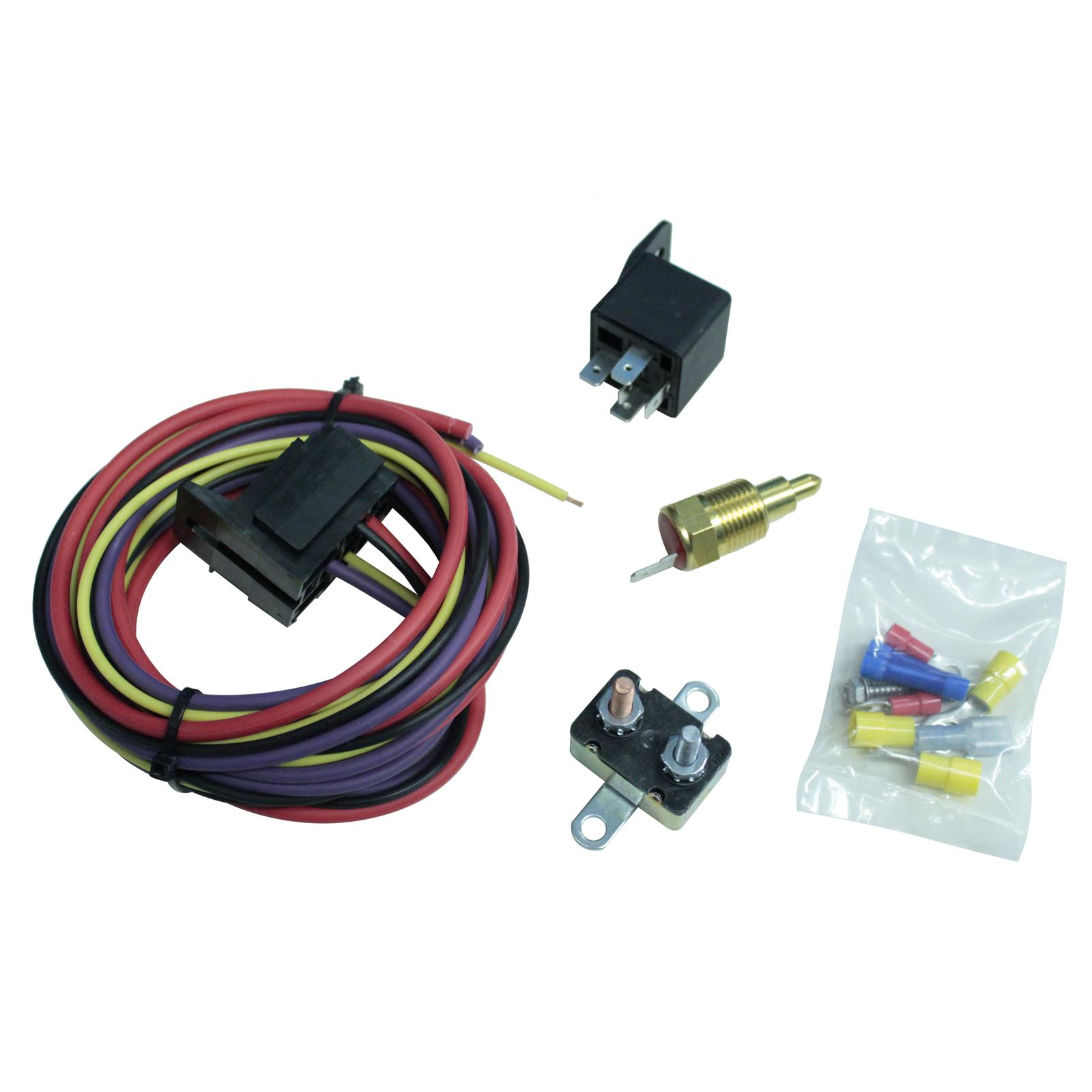 Summit Racing® Electric Fan Thermostat Kits SUM-890115 - Free ... on