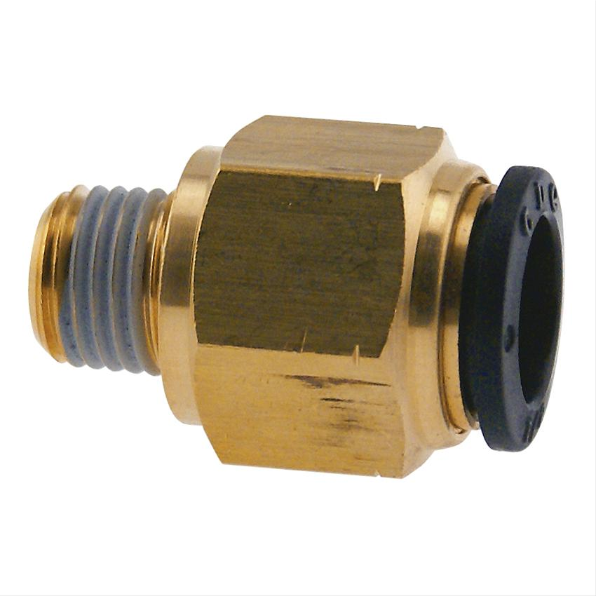 Summit air hose fitting purvex push on quot o d to