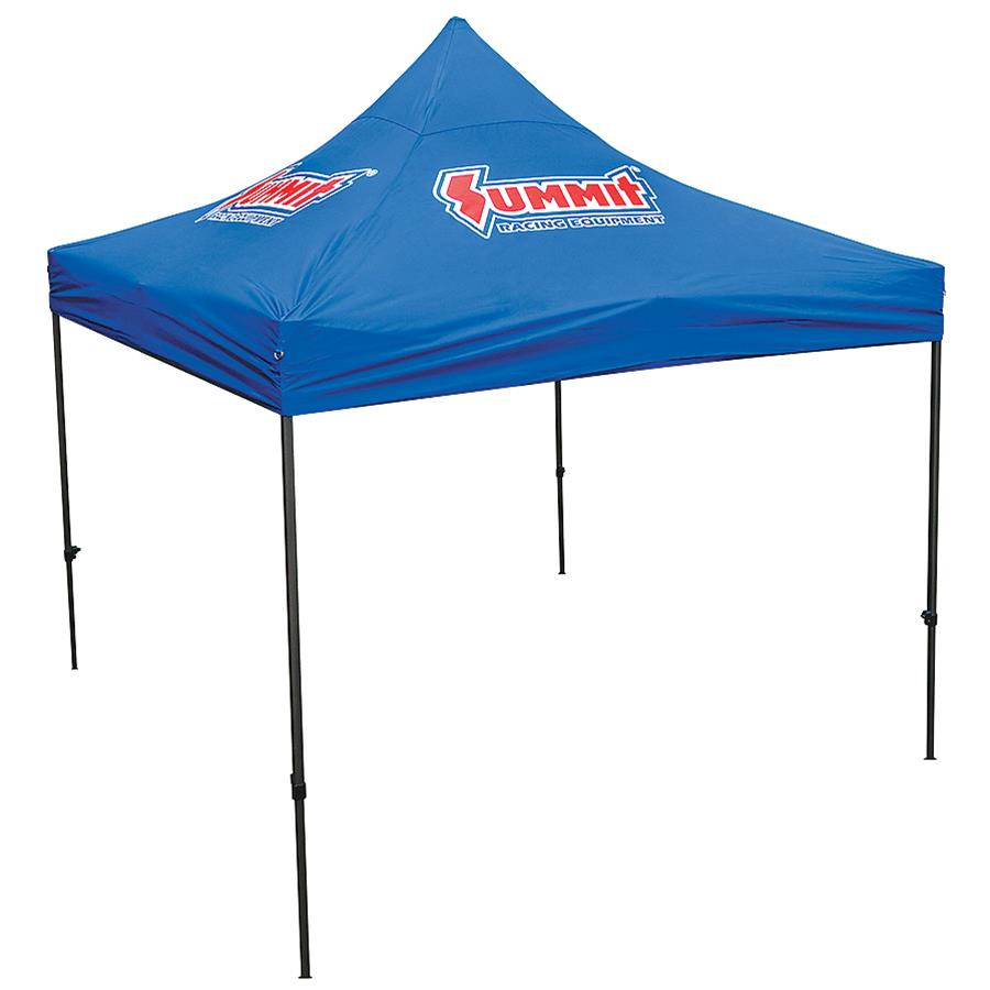 Pop Up Canopy Tent >> Summit Racing 10 X 10 Pop Up Canopy Tents Sum 941061 Free
