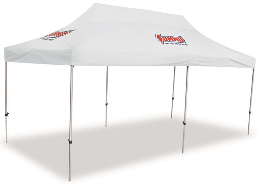 Pop Up Canopy Tent >> Summit Racing 20 X 10 Pop Up Canopy Tents Sum 941623
