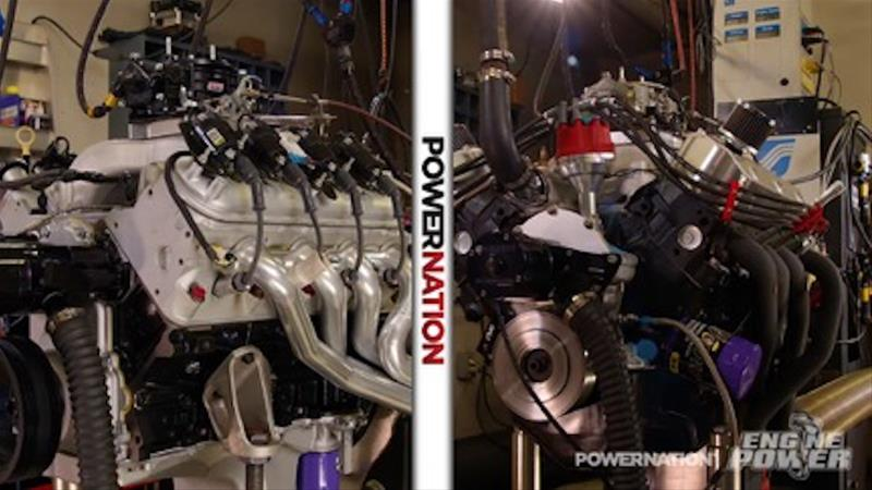 Engine Power Head-to-Head Horsepower Ford 351W Long Block Combos  SUM-CSUMEPT001