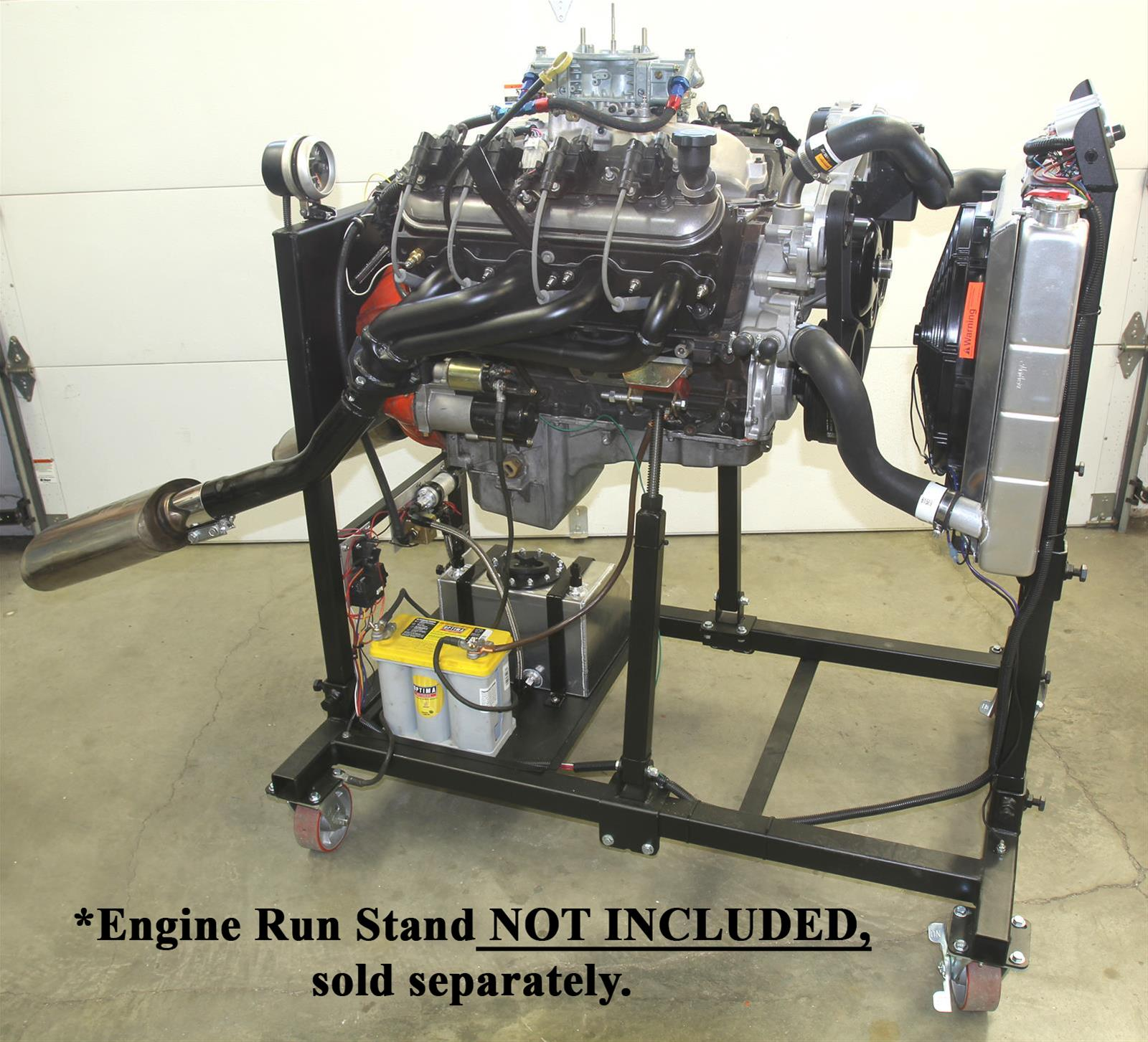 Summit Racing U00ae Engine Test Stand Efi Fuel System Combos