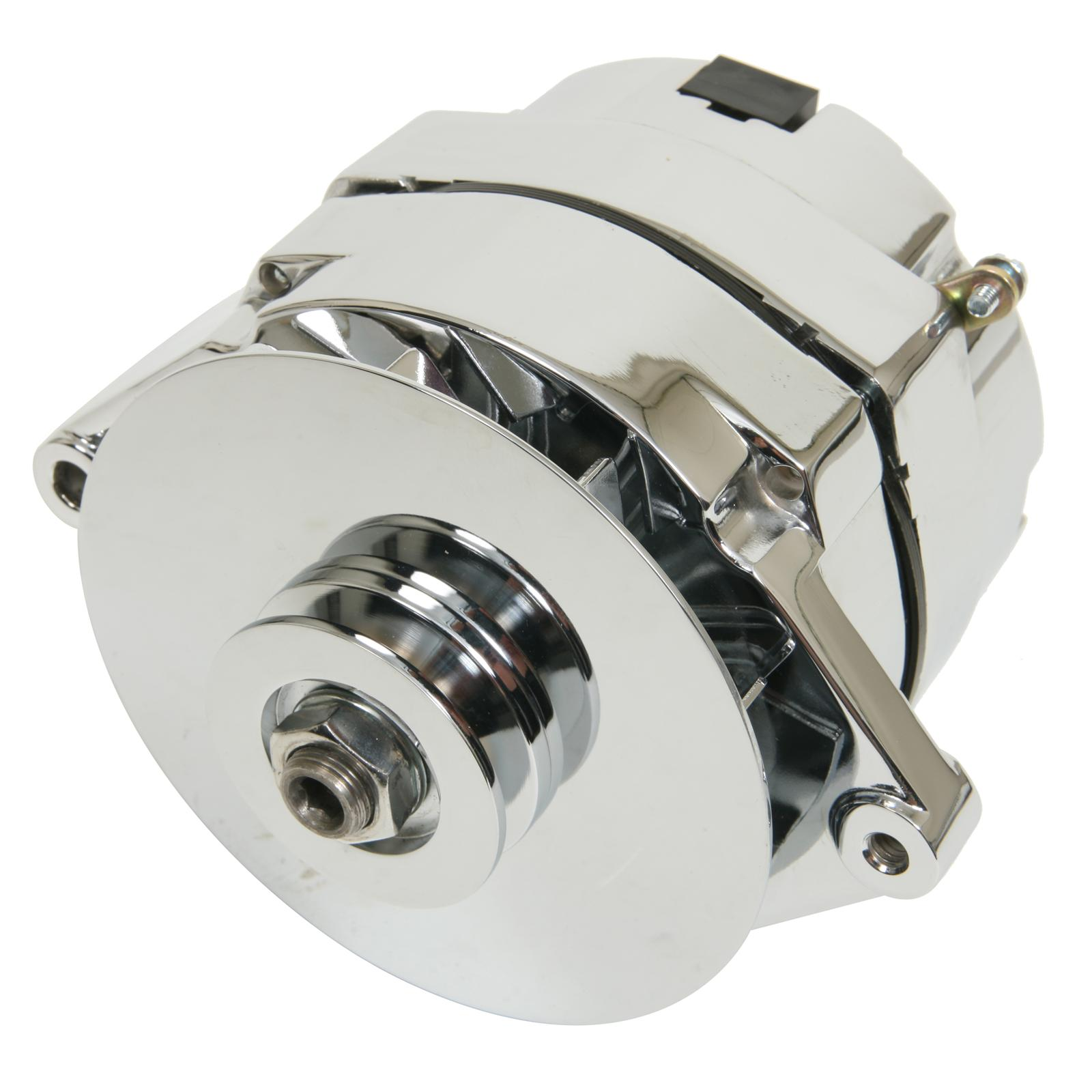 Summit Racing Chrome Alternators Sum G1667a Free Shipping On Toyota Onewire Alternator Upgrade For Simple Wiring Page 2 Orders Over 49 At