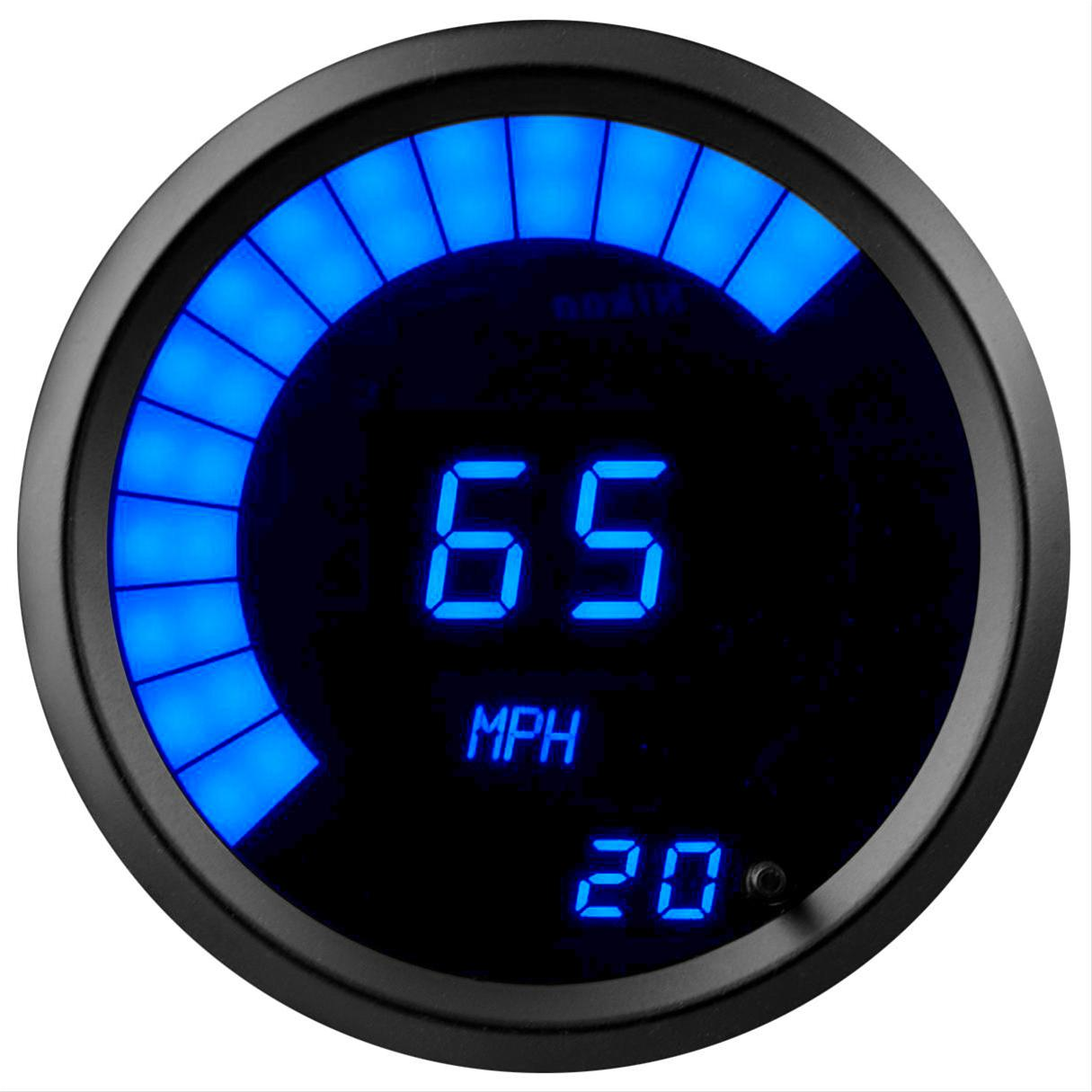 Summit Racing Led Digital Speedometers Sum G2981 2b Free Shipping Electric Speedometer Hall Effect On Orders Over 99 At