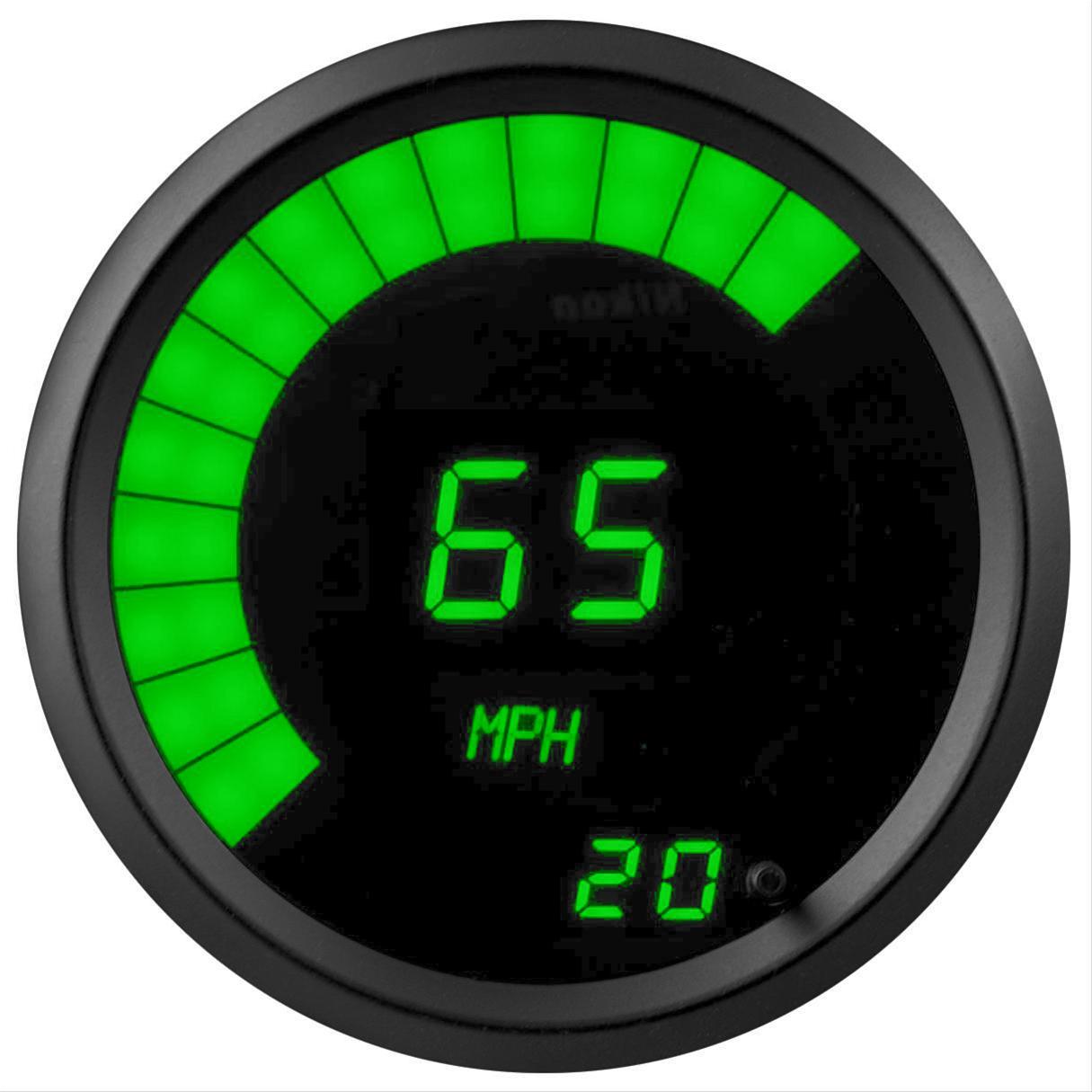 Summit Digital Meters : Summit racing g tachometer led rpm in